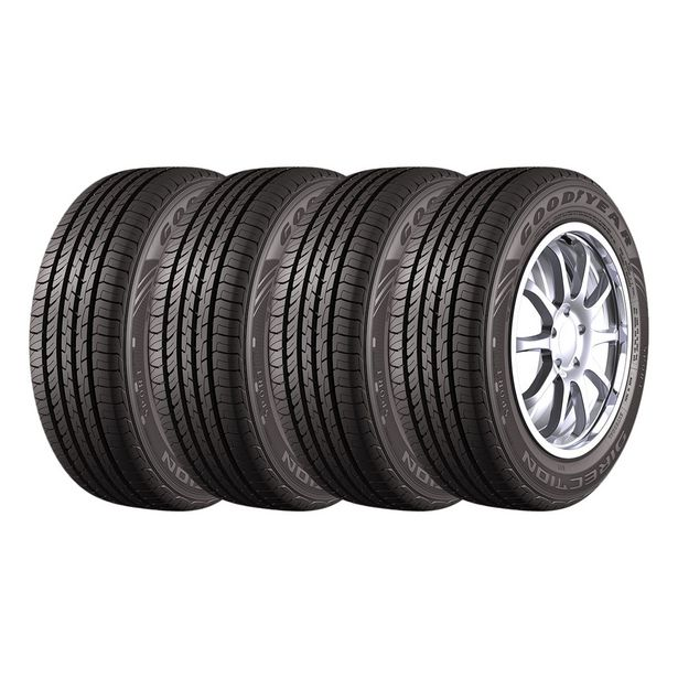 Oferta de Kit 4 Pneus Aro 15 185/60R15 Goodyear Direction Sport por R$1405,05