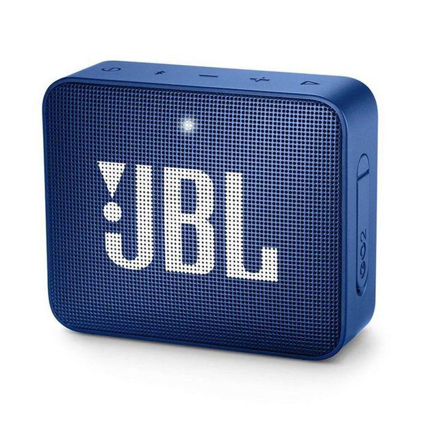Oferta de Caixa Bluetooth JBL GO2 Blue - Azul por R$276,89