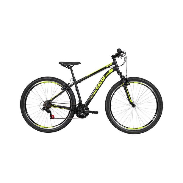 Oferta de Bicicleta Aro 29 Caloi 21 Marchas Velox V-Brake Mountain Bike Preta por R$929,9