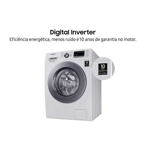 Oferta de Lava e Seca Samsung WD4000 11Kg 12 Programas Branca 110V por R$3199