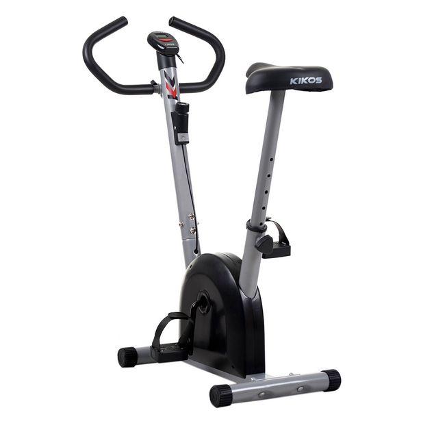 Oferta de Bicicleta Ergométrica Mecânica Vertical Kikos B3015 Preta e Cinza por R$826,66