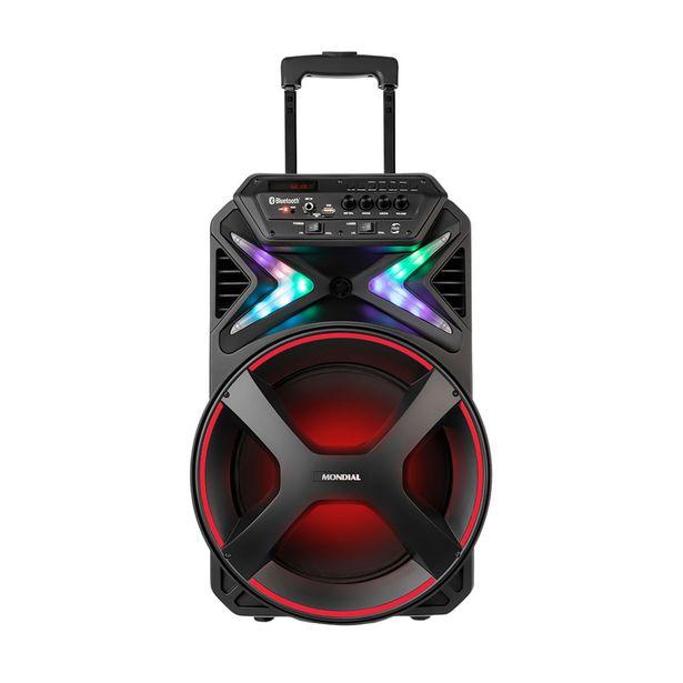 Oferta de Caixa Amplificada Mondial CM-400 400W Bluetooth e USB Rádio FM por R$439,9