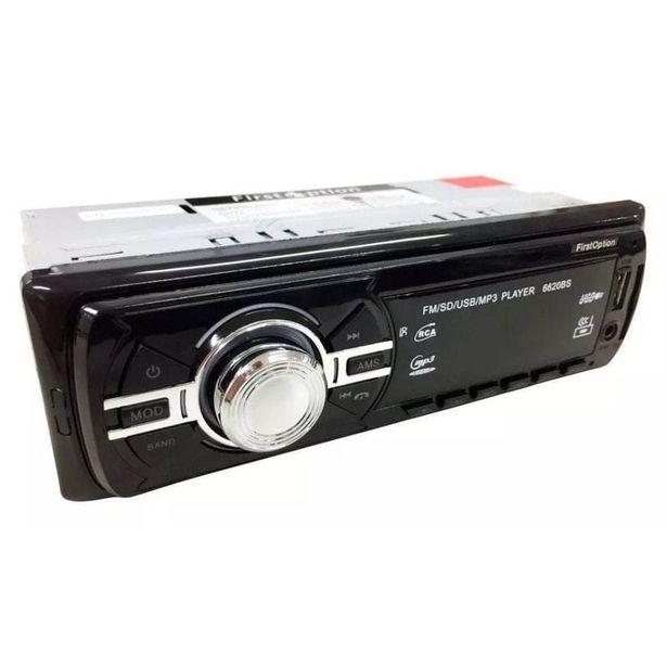 Oferta de Radio De Carro Mp3  Bluetooth Usb por R$82,77