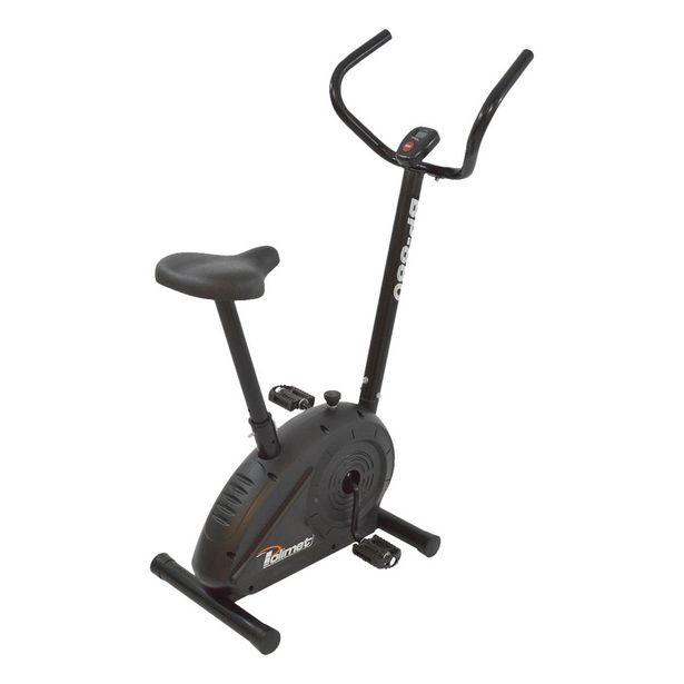 Oferta de Bicicleta Ergométrica Mecânica Vertical Polimet BP-880 Preta por R$599