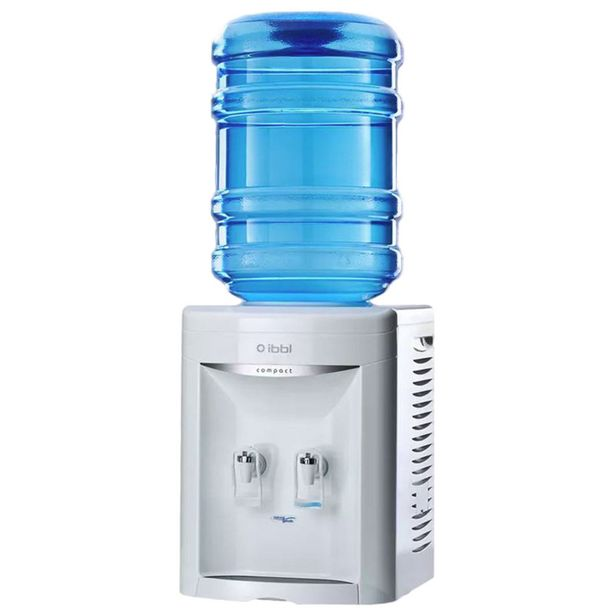 Oferta de Bebedouro de Garrafão IBBL Compact FN 2000 Água Natural e Gelada Branco 220V por R$641,05