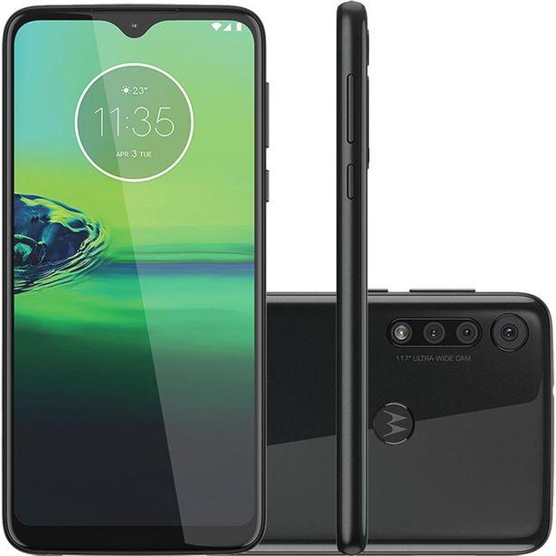 Oferta de Celular Motorola Moto G8 Play Preto Ônix 32GB Câmera Tripla 13MP + 8MP + 2MP por R$1499