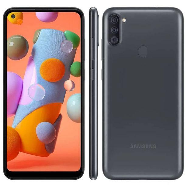 Oferta de Smartphone Samsung A115 Galaxy A11 Preto 64GB por R$1250