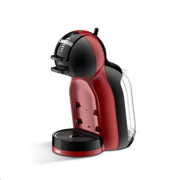 Oferta de Cafeteira Expresso Arno Dolce Gusto Mini Me, Preta/Vermelha - 110V por R$399,9