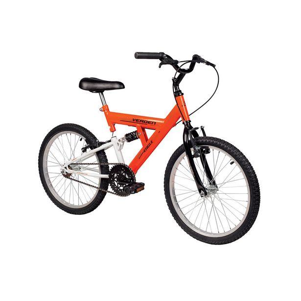 Oferta de Bicicleta Infantil Aro 20 Verden Bikes Eagle Laranja e Branca por R$699