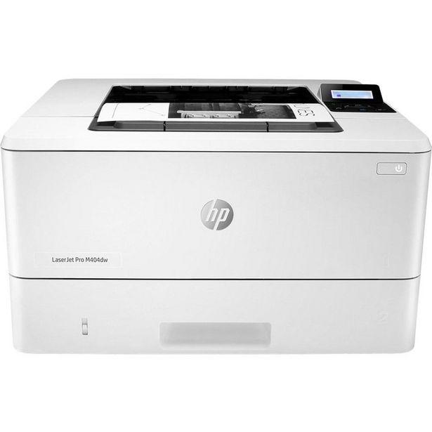 Oferta de Impressora HP Laserjet PRO M404DW, Laser Monocromática, Wi-Fi e USB - 110V por R$1649