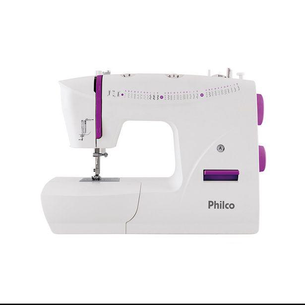 Oferta de Máquina de Costura Doméstica Philco PMC33B 110V por R$789,9