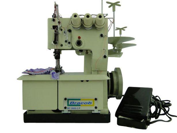 Oferta de Máquina de Costura Galoneira Portátil, 2 Agulhas, BC2600 c/ Motor Acoplado, 110V - Bracob por R$1249,99