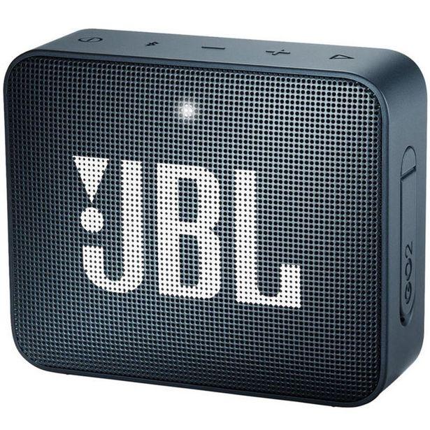 Oferta de Caixa Bluetooth JBL GO2 Navy - Azul por R$289
