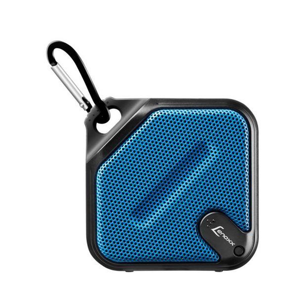 Oferta de Speaker Antirespingo Lenoxx  BT 501 (Azul e Preto) por R$85,9