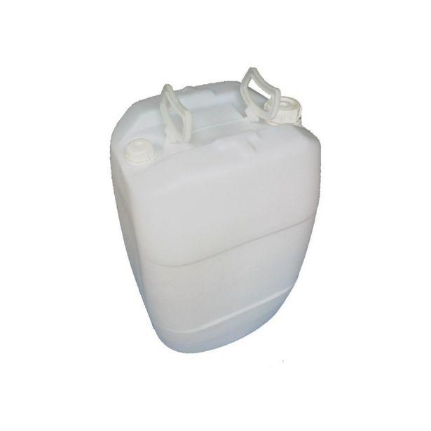 Oferta de Bombona para água de reuso de 50 Litros com Tampa Fixa Branca - Kit com 2 Unidades por R$168