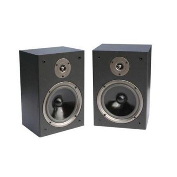 Oferta de Boz Technology BT-65BS - Par de caixas acústicas Bookshelf Preto por R$579