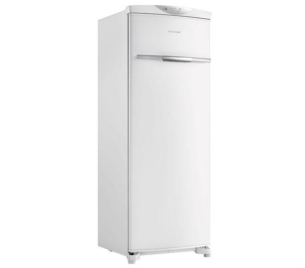 Oferta de Freezer Vertical Brastemp Flex Frost Free 228 Litros 110V BVR28MBANA por R$3099
