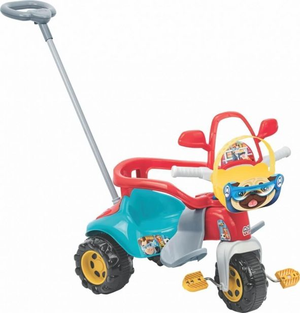 Oferta de Triciclo Tico Tico Zoom Max Com Aro 2710L Magic Toys por R$385,9