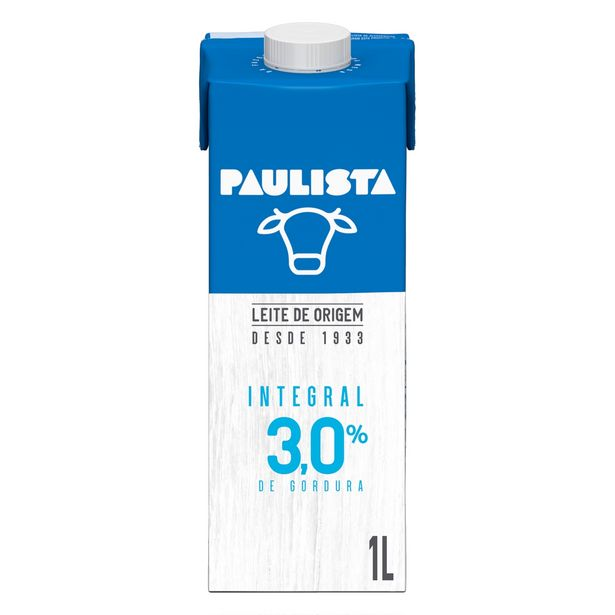 Oferta de Leite Paulista EDGE Integral 1L por R$4,49