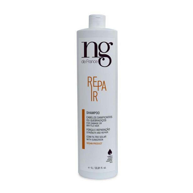 Oferta de Shampoo Repair NG de France 1000ml por R$89,9