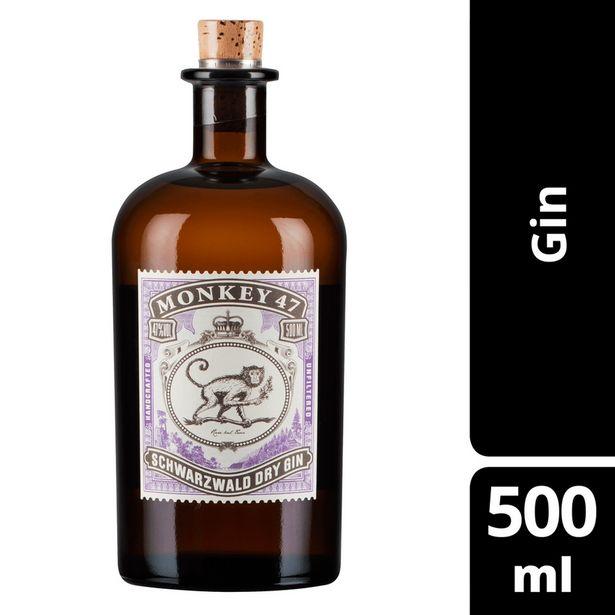 Oferta de Gin Dry Schwarzwald MONKEY 47 Garrafa 500ml por R$279,99