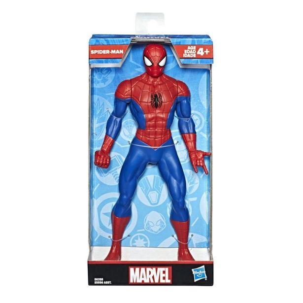 Oferta de Boneco Articulado - Marvel - Clássico - Homem-Aranha - 25 cm - Hasbro por R$79,95