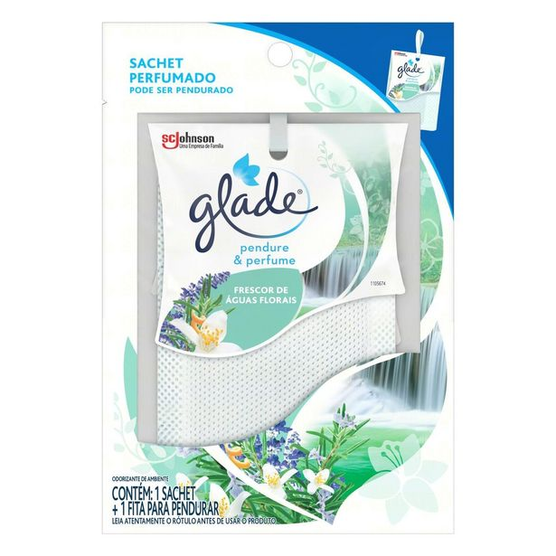 Oferta de Odorizador de Ambiente Águas Florais Glade Pendure & Perfume por R$7,19
