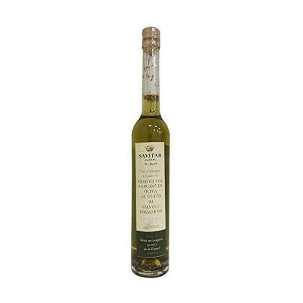 Oferta de Azeite Virgem De Oliva Com Salvia E Alecrim Savitar 100 Ml por R$39,9
