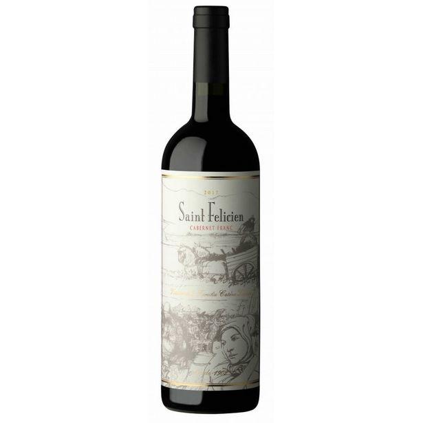 Oferta de Vinho Tinto Argentino Saint Felicien Cabernet Franc 750ml por R$169,99