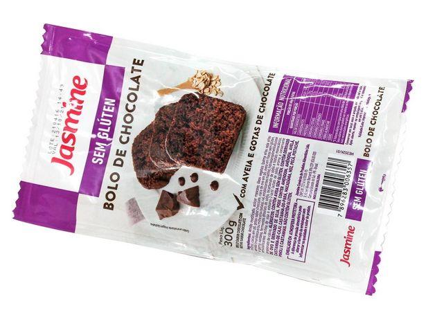 Oferta de Bolo de Chocolate Aveia e Gotas Chocolate Jasmine 300g por R$22,19