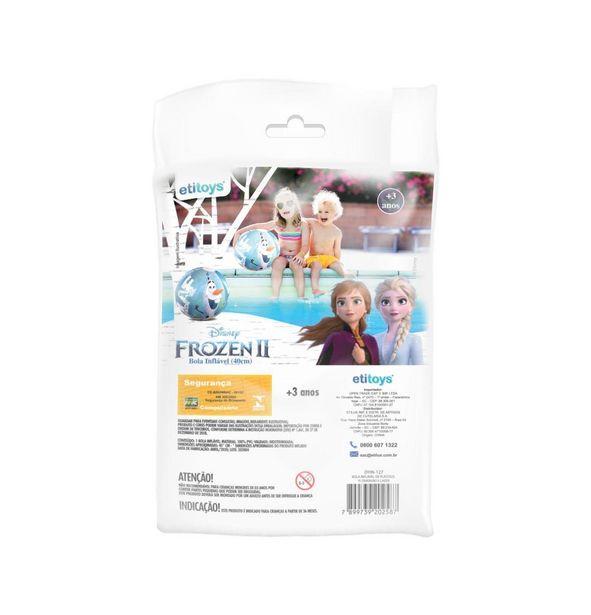 Oferta de Bola inflavel para diversão, Frozen 40 cm por R$19,99