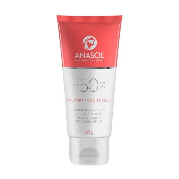 Oferta de Anasol Protetor Solar Facial FPS50 60g por R$36,9