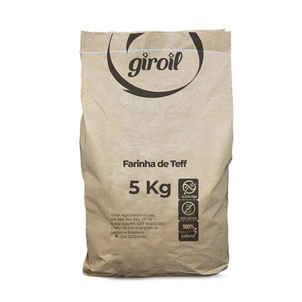 Oferta de Farinha de Teff Giroil - 5 Kg por R$182