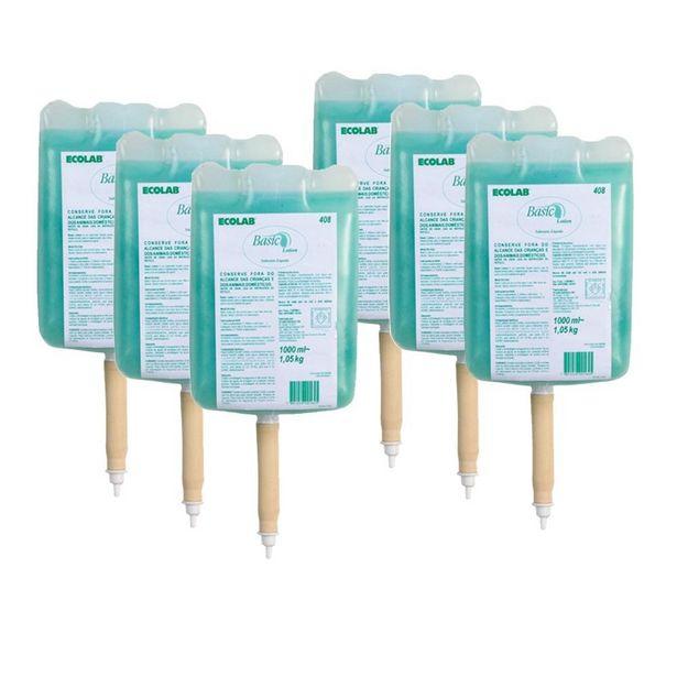 Oferta de Sabonete Líquido Elite Plus Erva Doce - 6 Bladers Com 1.000Ml Cada por R$178,71