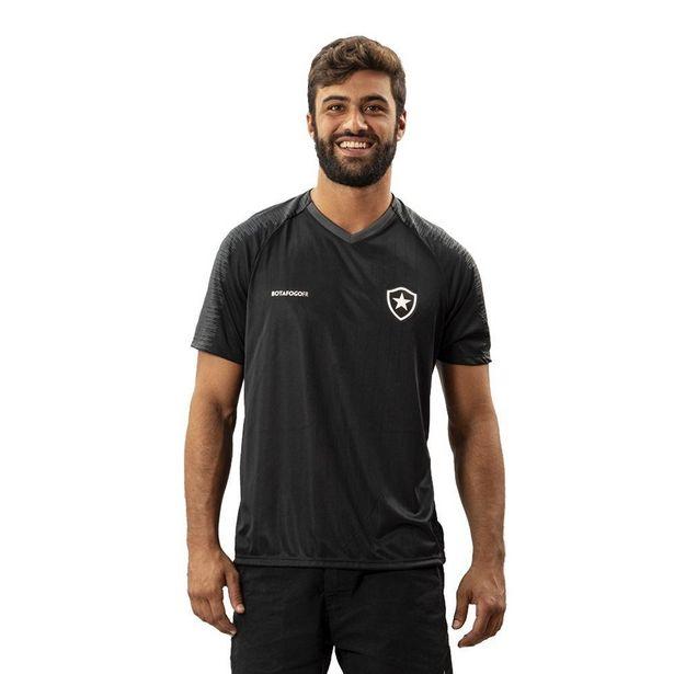 Oferta de Camisa Botafogo Really Masculina Preto - Preto - M por R$83
