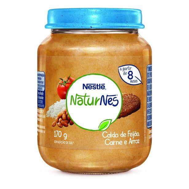 Oferta de Papinha Nestlé Naturnes Caldo de Feijão, Carne e Arroz 170g por R$6,39