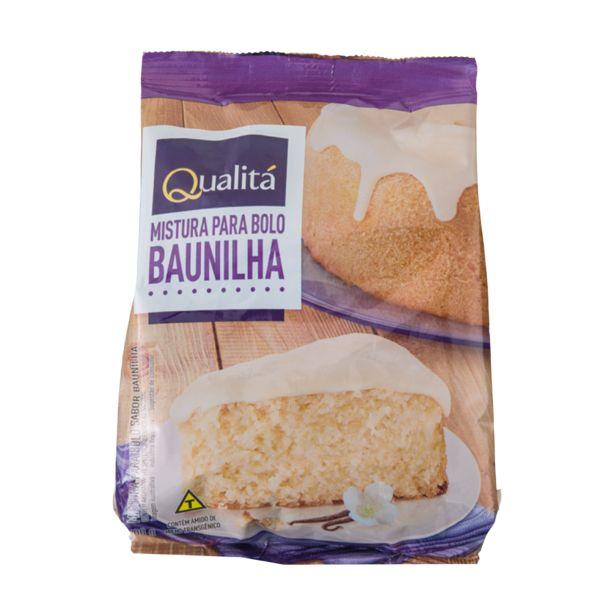 Oferta de Mistura para Bolo Baunilha QUALITÁ 400g por R$4,59