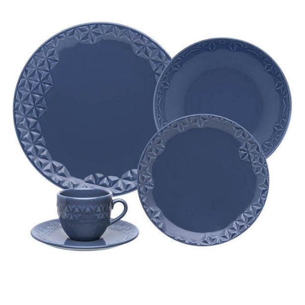 Oferta de Aparelho de Jantar e Chá 20 peças Mia Mare por R$409,9
