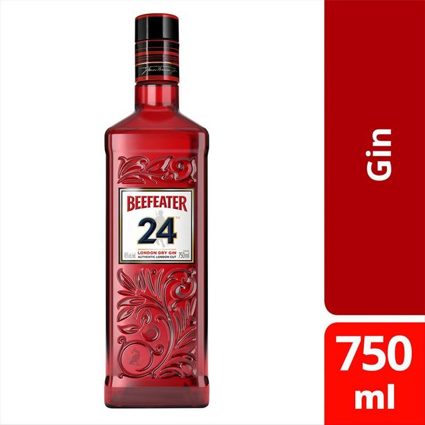 Oferta de Gin BEEFEATER 24 London Dry -  Garrafa 750ML por R$179,99