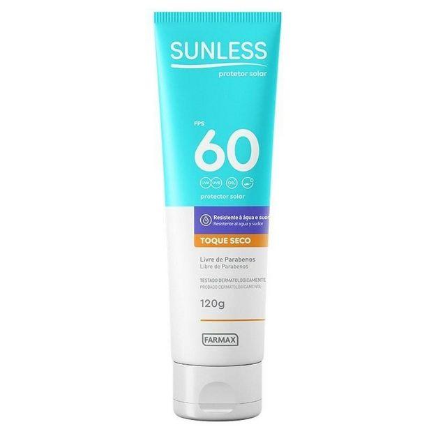 Oferta de Protetor Solar Fps60 Sunless 200 g por R$44,9