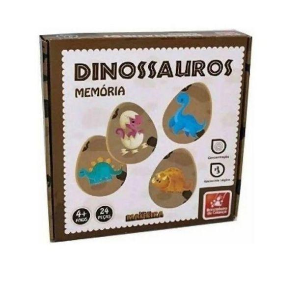 Oferta de Jogo da Memória Dino - Brincadeira de Criança por R$27,04