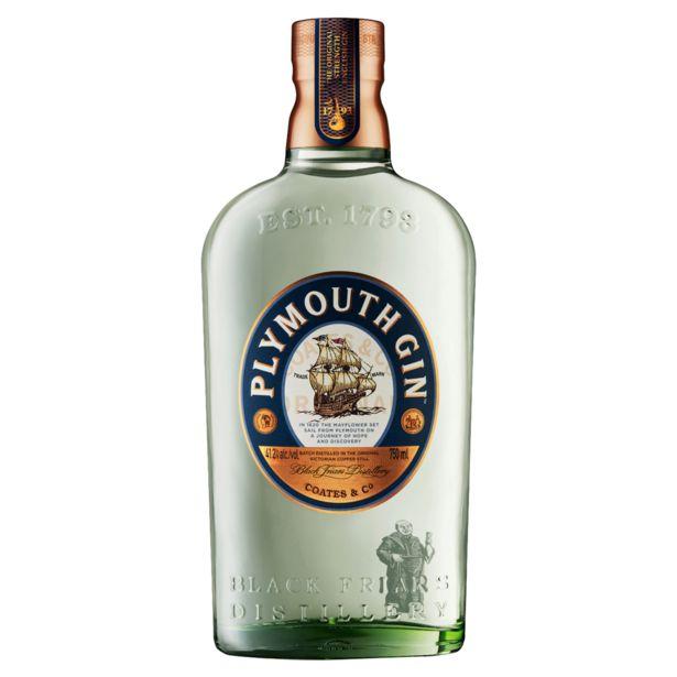 Oferta de Gin Clássico Plymouth Garrafa 750ml por R$199,99