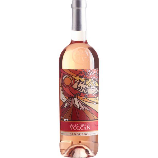 Oferta de Vinho Francês Rosé LES LARMES DU VOLCAN Languedoc Garrafa 750ml por R$149,99