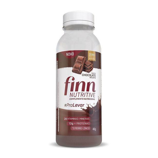 Oferta de Finn Nutritive Complemento Nutricional Sabor Chocolate 46g por R$7,57