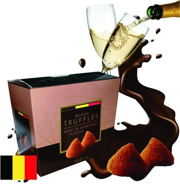 Oferta de Caixa Trufas de Chocolate Belga Champagne 150g - Bianca por R$26,9