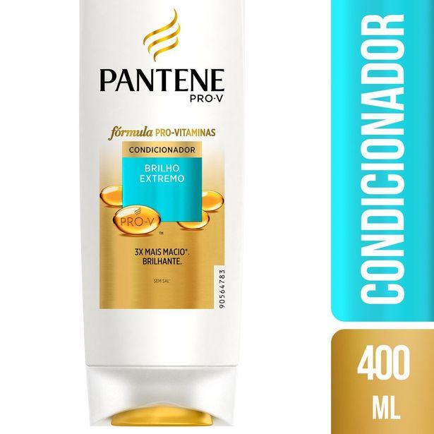 Oferta de Condicionador PANTENE Brilho Extremo 400ml por R$19,9