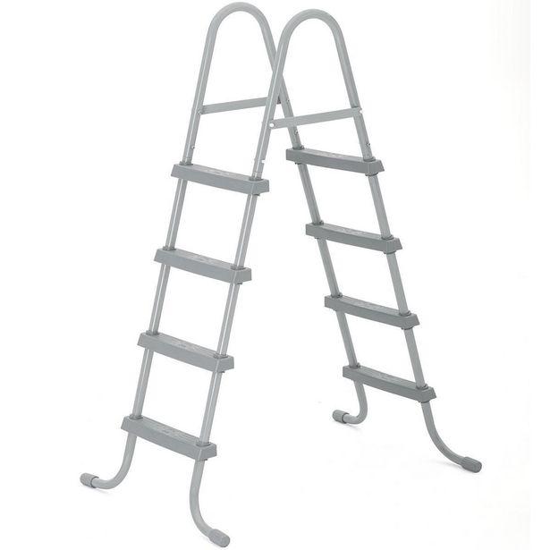 Oferta de Escada Para Piscina  1,22m Bestway por R$699