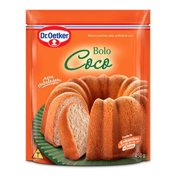 Oferta de Mistura para Bolo de Coco Dr. OETKER Sachê 450g por R$4,55