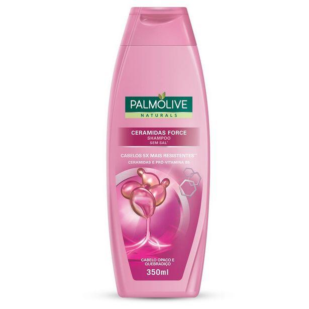 Oferta de Shampoo Palmolive Naturals Ceramidas Force 350ml por R$5,99