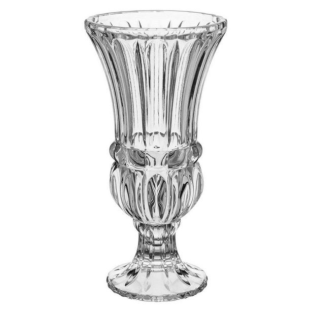 Oferta de Vaso Ecologico Cristal Transparente Aletta 30X15X15Cm por R$250,9